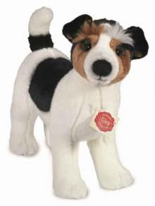 This Jack Russell soft toy by Hermann Original had to be my cover pic, as they are my favourite dog. He is made of soft plush and is lovely abd cuddly.