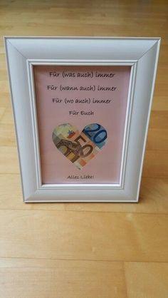 un modo originale per regalare soldi agli sposi