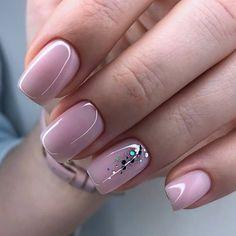 different color nails Classy Nails, Stylish Nails, Trendy Nails, Cute Nails, Simple Nails, Hair And Nails, My Nails, Happy Nails, Nail Deco