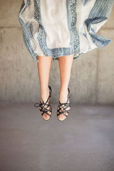 Jumping for joy in my new Sole Society sandals!//