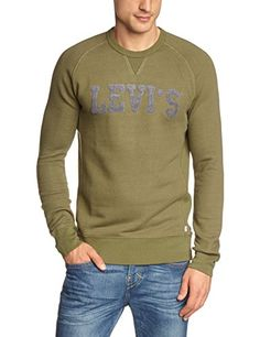 Levi'S - Sweat-shirt - Homme - Vert (Grün 0009) - FR: Small (Taille fabricant: S) Levi's http://www.amazon.fr/dp/B00JXPLYK8/ref=cm_sw_r_pi_dp_jRwfwb1M71YXK