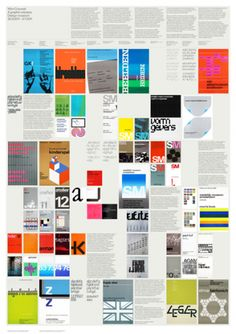 Love this super colorful and exquisitely organized Wim Crouwel exhibit poster.