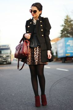 leopard skirt...yes please and thank you :)