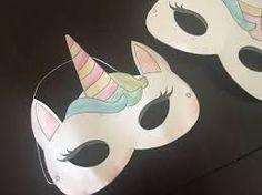 Bildergebnis für unicorn mask to print