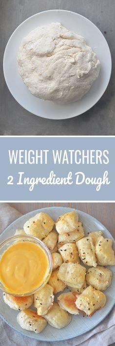 2 Ingredient Dough - Recipe Diaries #pizza #dough #pretzels