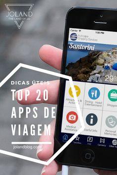 Uma lista das 20 melhores apps de viagem em 6 categorias diferentes, para iOS e Android, para aproveitares ao máximo as tuas viagens!