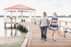 Playful and romantic engagement photography session at Baldwin Park by top Orlando wedding and portrait photographer Park Photography, Engagement Photography, Wedding Engagement, Engagement Session, Baldwin Park, Orlando Wedding Photographer, Portrait Photographers, Family Photos, Romantic