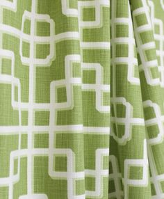 A chinoiserie inspired fabric in a rich and striking kelly green with creamy white contrast lines. Fabric has a basket weave.Perfect for drapery, curtains, roma: p Kaufmann imperial gate Drapery Fabric, Fabric Decor, Fabric Design, Chinoiserie Fabric, Parents Room, Custom Curtains, Gorgeous Fabrics, Handmade Pillows, Outdoor Fabric
