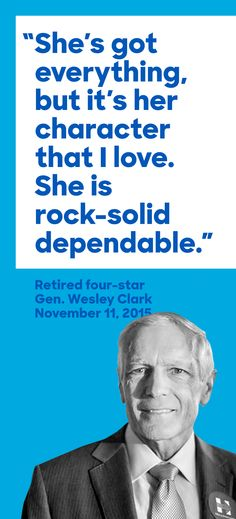 Hillary!, A five-star review from a four-star general.
