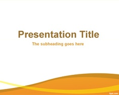 Youth culture powerpoint template is a free slide design for culture free organization powerpoint template background with orange and white background color for presentations toneelgroepblik Image collections