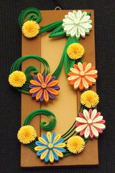 quilled small arrangement