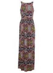 Paisley Print Pinny Maxi Dress