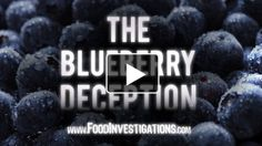 Big-name food and cereal companies are caught 'faking' the blueberries in their cereals, muffins and other products. What did the Health Ranger find in these products instead of blueberries? Artificial coloring chemicals, hydrogenated oils and liquid sugars. Narrated by Mike Adams.