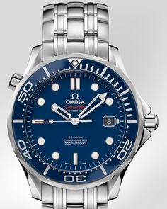 OMEGA Watches: Seamaster 300 M Chronometer - Steel on steel