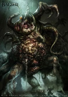 Nurgle Cave Demon - Games Workshop by helgecbalzer on DeviantArt
