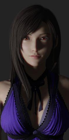 Final Fantasy 7 Tifa, Final Fantasy Girls, Final Fantasy Cosplay, Final Fantasy Artwork, Final Fantasy Characters, Final Fantasy Vii Remake, Female Characters, Tifa Ff7 Remake, Tifa Cosplay