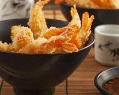 Beignets de crevettes façon tempura, sauce aigre douce légère : http://www.fourchette-et-bikini.fr/recettes/recettes-minceur/beignets-de-crevettes-facon-tempura-sauce-aigre-douce-legere.html