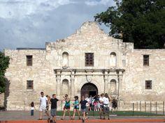 The Alamo.. I'd love to go back to San Antonio again