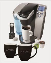 I just earned a new Keurig Brewing System and a year's supply of coffee and tea from Avon! Sell Avon to earn extra cash and the chance to earn some exciting incentives! http://eseagren.avonrepresentative.com/opportunity/start
