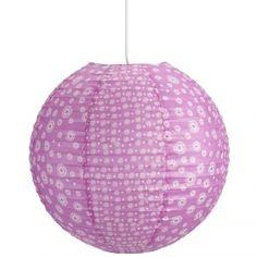 suspension luminaire en papier rose oly luminaire pour chambre de petite fille la fois - Suspension Ado