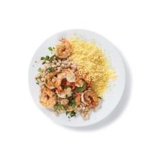 10 Easy Shrimp Recipes ❤ liked on Polyvore featuring food, food and drink, fillers, comida, circle, circular e round