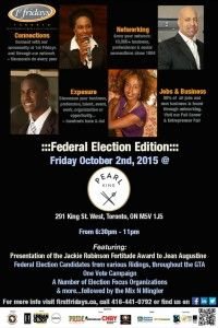 First Fridays Toronto - Election Edition