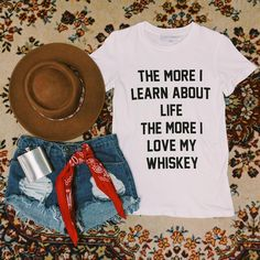 The more I learn about life the more I love my whiskey! ⚡️ #gypsywarrior #ootd
