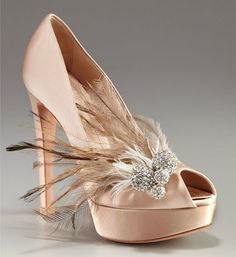 Dior --- just dreaming; I could never walk in these, but they are so pretty