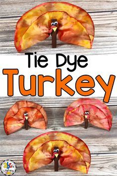 This Tie Dye Coffee Filter Turkey Craft is a fun, process art activity for kids to create. It's an easy Thanksgiving craft for kids of all ages and one of my favorites to make in a classroom or group of children because no two turkeys are alike. Add names Thanksgiving Crafts For Toddlers, Thanksgiving Place Cards, Thanksgiving Activities, Thanksgiving Decorations, Fall Crafts, Thanksgiving Favors, Thanksgiving Turkey, Holiday Crafts, Coffee Filter Art