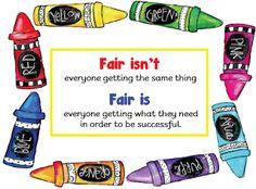 Fair isn't… fair is…