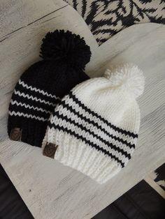 Baby Mittens Knitting Pattern, Knitting Machine Patterns, Crochet Beanie Pattern, Loom Knitting, Baby Knitting, Knit Crochet, Crochet Patterns, Crochet Hats, Knitting Designs