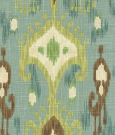 Ikat - I would LOVE to have this fabric in my bedroom
