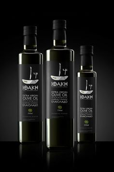Ithaki Extra Virgin Olive Oil on Packaging of the World - Creative Package Design Gallery