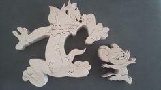 Puzzle bois Tom et Jerry                                                                                                                                                                                 More