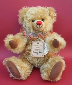 vintage bear by Robin Rive   Cosmo