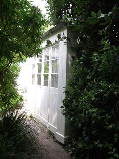 Barbara Hepworth's summer sleeping shed. St Ives