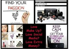 Do u love make up why not sell it earn money plus get free stuff