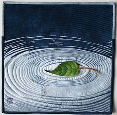 LATITUDE QUILTS: Silence - lovely small quilt by Janice Stevens, very meditative