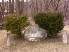 Memorial boulder for Fort Massachusetts, erected in 1976, by the Daughters of the American Revolution.  Photo taken in March 2010 by M.T. Bradley. Courtesy of the American Forts Network http://www.northamericanforts.com/