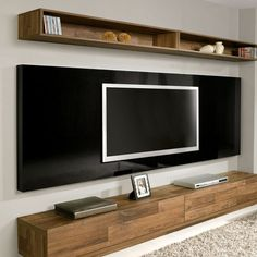 Home Design Ideas Acoustic Wall Panels, House Design, House, Home, Tv Wall Design, Living Room Decor, Cool House Designs, Tiny Apartments, Living Room Tv Wall