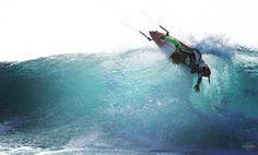 kite (Matchu Almeida)  kitesurfing, waves,ocean