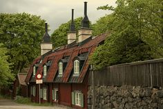 walk in Fjällgatan (Stockholm - Sweden) by HoMi\nside, via Flickr #ridecolorfully