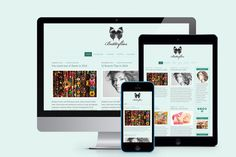 Check out Butterflies Blogging Theme by Femme Themes on Creative Market