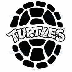 Teenage+Mutant+Ninja+Turtles+Logo | Teenage Mutant Ninja Turtles Retro Shell Logo custom iPod, MacBook ...
