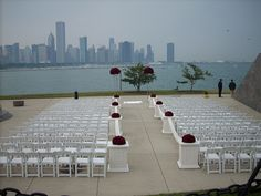 Outdoor wedding at the Adler Planetarium... Wait what?! That'd be amazing in the best city in the world #chicago