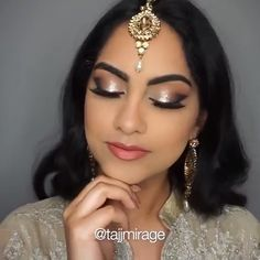 A DIY noselift that reshapes your nose, without surgery, needles or make up. Indian Makeup Video, Indian Makeup Tutorial, Indian Makeup Looks, Makeup Looks Tutorial, Bridal Makeup Looks, Indian Bridal Makeup, Indian Makeup Natural, Indian Eye Makeup, Holiday Makeup Looks