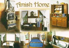 Inside an Amish home - simple, clean and basic