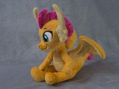 Smolder Dragon Plush Toy Made to Order image 1