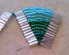 Ladder Stitch Bracelet Tutorial