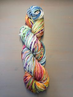 50g 100% Superwash Merino DK, hand dyed in Scotland, multicoloured, variegated by CookstoncraftsShop on Etsy